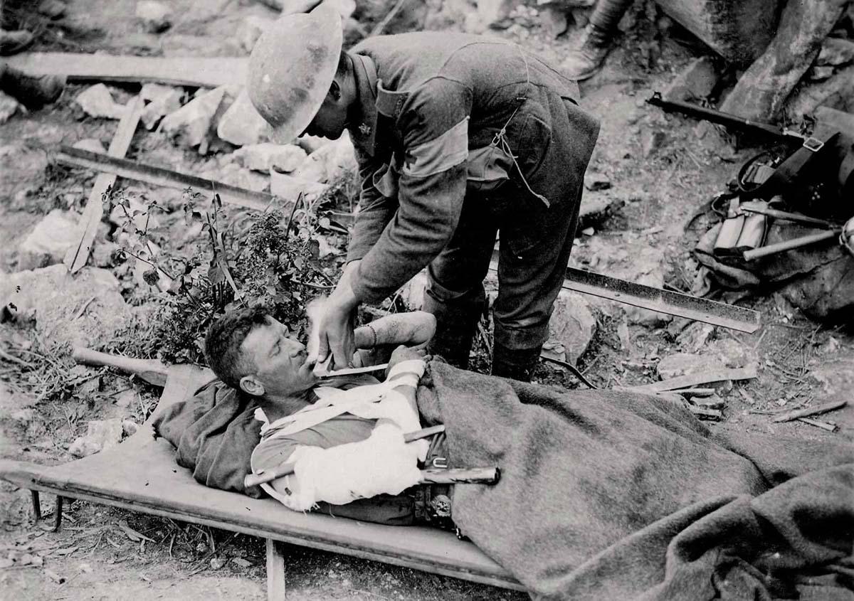 Des Amérindiens dans les tranchées 14-18 Ch04-diapo04-04