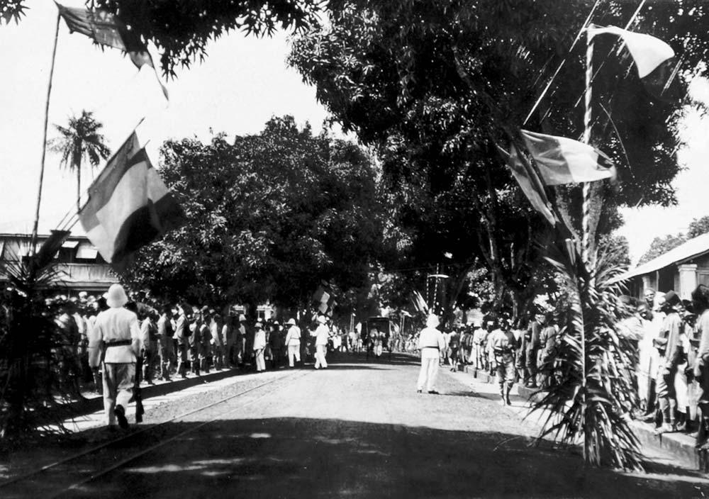Jour d'arrivée de la mission à Conakry