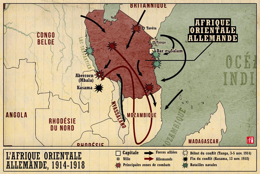 Grande Guerre Les Batailles Oubliees De L Afrique